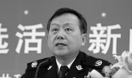 Заместитель директора Министерства общественной безопасности Хуан Мин. (ThePaper.cn)
