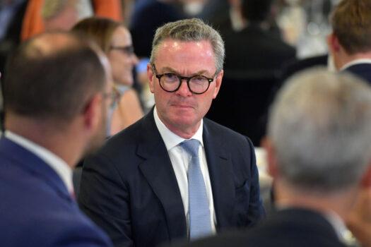 Бывший министр Кристофер Пайн в Национальном пресс-клубе в Канберре, Австралия, на Канберре, Австралия. Sam Mooy/Getty Images | Epoch Times Россия