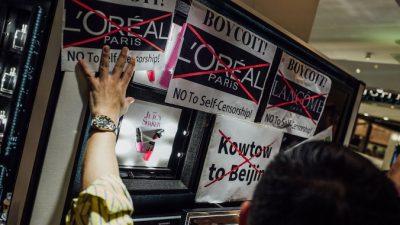 Опасность самоцензуры: L'Oréal потеряла миллиарды, прислушиваясь к китайской газете