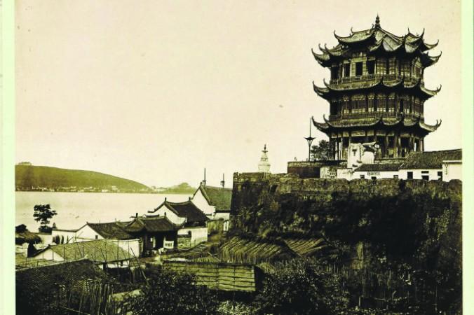 Башня жёлтого журавля, 1870 г. Фото: Wikipedia Commons/Public domain | Epoch Times Россия