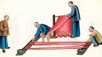 В Китае 8 500 лет назад изготавливали роскошные шёлковые ткани