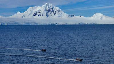 В Антарктиде обнаружили подлёдный каньон