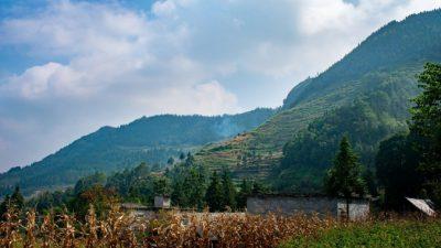 На вершинах китайских гор обнаружены таинственные символы