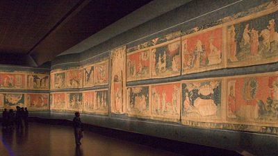 В фондах парижской галереи обнаружили фрагменты средневекового ковра «Апокалипсис»