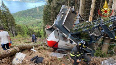 По делу о падении кабины канатной дороги в Италии арестовали трёх человек