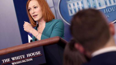 Псаки сказала, что Белый дом относится серьёзно к угрозе НЛО