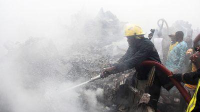 В результате крушения самолёта в Нигерии погибли 11 человек