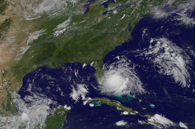 Спутниковый снимок тропического шторма.  Фото: NASA Goddard Space Flig/flickr.com/ CC BY 2.0 | Epoch Times Россия