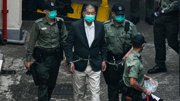 16 апреля 9 гонконгских правозащитников, в том числе основатель Next Media Джимми Лай, были приговорены к тюремному заключению за участие в продемократических протестах в августе 2019 года. (<a href=