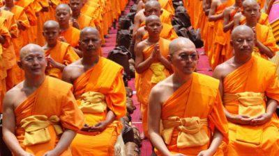 Буддийский монах улыбнулся через 2 месяца после смерти