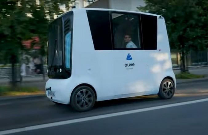 Первые в мире беспилотные микроавтобусы на водородном топливе появятся на дорогах Эстонии