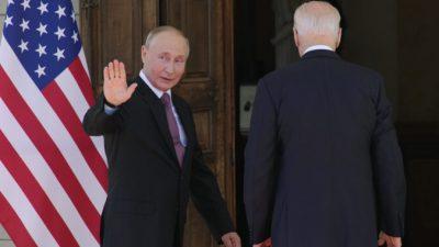 Байден и Путин обсудили ряд вопросов на саммите в Женеве