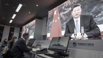 Си призвал укрепить имидж компартии Китая в мировых СМИ