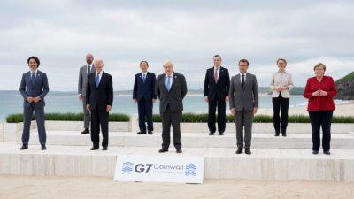 G7 противопоставит Китаю большой инфраструктурный план
