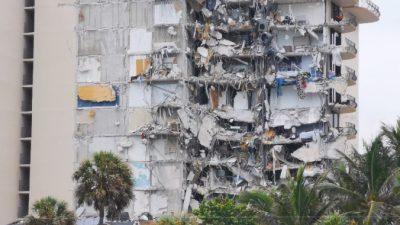 Около 100 человек пропали без вести во Флориде при обрушении 12-этажного дома. Введён режим ЧС