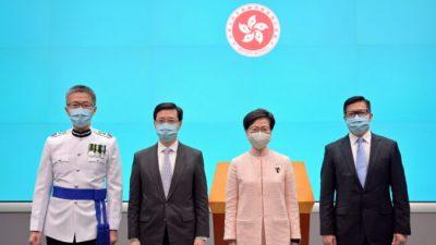 Пекин продвинул сотрудников службы безопасности на руководящие должности в Гонконге