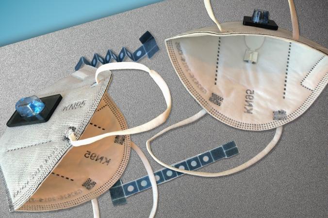 Инженеры Массачусетского технологического института и Гарварда разработали прототип маски для лица, который может диагностировать у человека, носящего маску, Covid-19 в течение примерно 90 минут. news.mit.edu/Felice Frankel and MIT News Office/ CC BY-NC-ND 3.0 | Epoch Times Россия