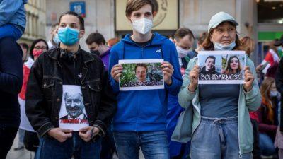 Софью Сапегу и Романа Протасевича перевели под домашний арест