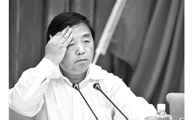 Цзи Цзянье, бывший мэр крупного китайского города Нанкин в восточной китайской провинции Цзянсу, был обвинен в получении взятки, сообщила государственная прокуратура 17 декабря 2014 года. (Screenshot/Beijing News) | Epoch Times Россия