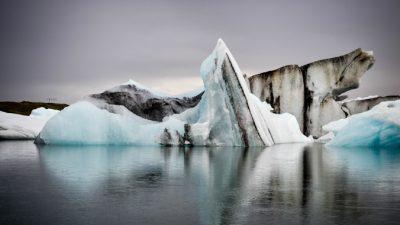 В ледниковых талых водах Гренландии обнаружили очень высокую концентрацию ртути