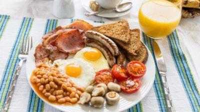 Традиционный завтрак в Великобритании