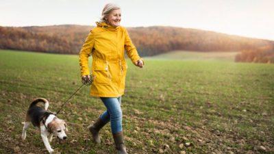 Ходьба полезна для здоровья сердца, костей и мышц