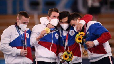 Впервые за 25 лет российские гимнасты взяли золото в многоборье