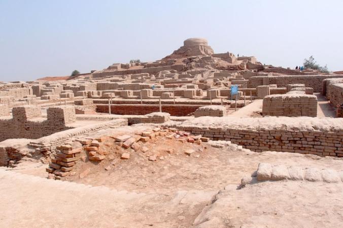 Руины Мохенджо-Даро. Вид на так называемую буддийскую ступу. Saqib Qayyum/ru.wikipedia.org/CC BY-SA 3.0 | Epoch Times Россия
