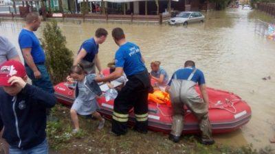 Жителям Сочи грозит эвакуация из-за возможного наводнения (Видео)