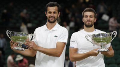 Мектич и Павич стали первой хорватской парой, победившей на Уимблдоне