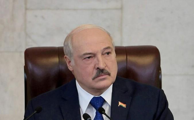 FILE PHOTO: Belarusian President Alexander Lukashenko delivers a speech in Minsk, Belarus May 26, 2021. Press Service of the President of the Republic of Belarus/Handout via REUTERS//File Photo | Epoch Times Россия
