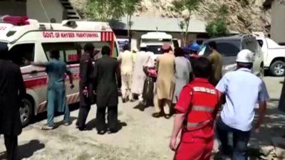 В результате взрыва автобуса в Пакистане погибли 13 человек, среди них 9 китайских инженеров