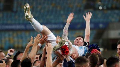 Аргентина с Месси обыграла Бразилию 1:0 и выиграла Кубок Америки