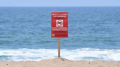 Десятки пляжей закрыли в США из-за большого количества опасных бактерий в воде