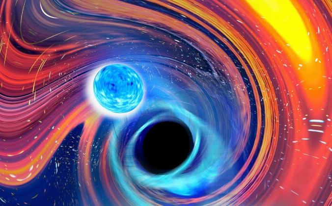3 glavnoe 676x420 1 - Космическая трапеза: Чёрная дыра проглотила нейтронную звезду