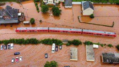 Наводнения нанесли немецким железным дорогам ущерб в 1,3 млрд евро