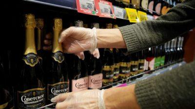 Франция пытается урегулировать конфликт с Россией из-за шампанского