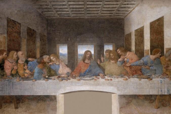 Восстановленная «Тайная вечеря» Леонардо даВинчи. (Всеобщее достояние) | Epoch Times Россия