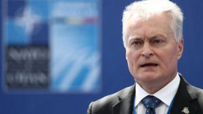 Литва объявила чрезвычайное положение из-за нелегальной иммиграции из Белоруссии