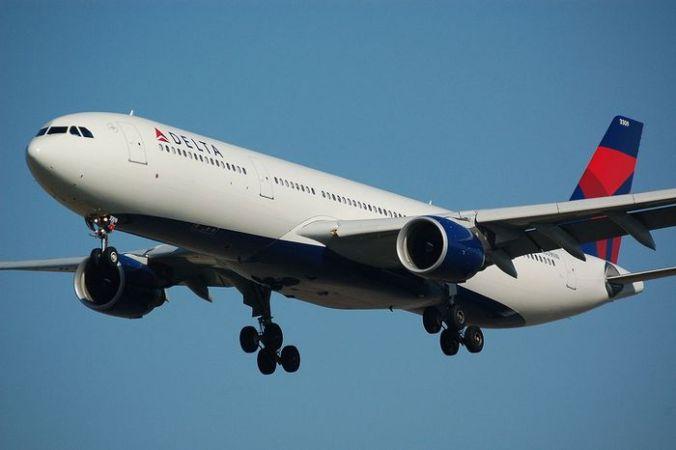 Самолёт авиакомпании Delta Air Lines. Фото: Gietje/commons.wikimedia.org/Public Domain | Epoch Times Россия