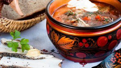 Санкт-петербургский суп по старинному рецепту