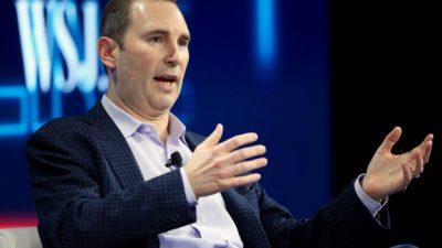 Amazon предоставит новому генеральному директору Ясси акции более чем на $200 млн