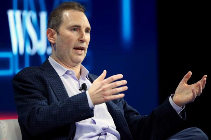 Генеральный директор Amazon веб-сервиса Энди Ясси выступает на конференции WSJD Liveв Лагуна-Бич, Калифорния, 25 октября 2016 г. (Майк Блейк / Reuters) | Epoch Times Россия