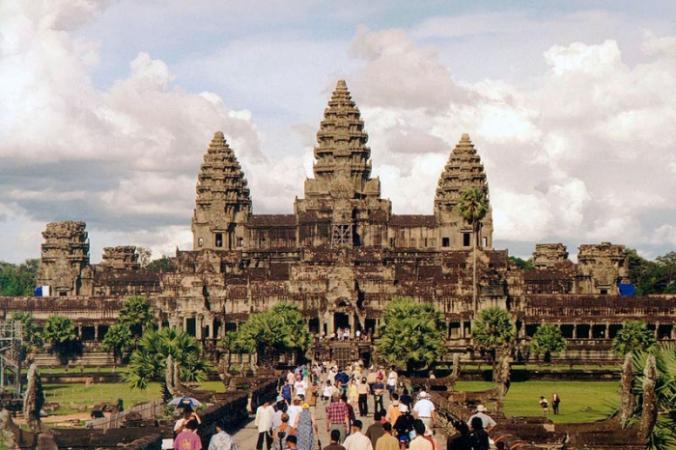Анкгкор-Ват, Камбоджа. Главный западный вход в храм. Manfred Werner/ru.wikipedia.org/CC BY-SA 3.0 | Epoch Times Россия