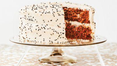 Морковный торт с тахиной