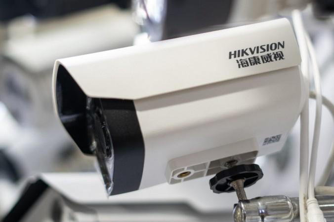 Камера Hikvision выставлена для продажи в электронном торговом центре для продажи в Пекине, Китай, 24 мая 2019 г. (Фред Дюфур / AFP через Getty Images) | Epoch Times Россия