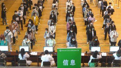 Противоречивая политика в отношении вакцинации против COVID-19 в разных провинциях Китая