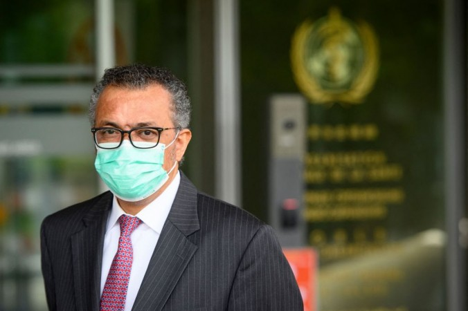 Генеральный директор Всемирной организации здравоохранения (ВОЗ) Тедрос Адханом Гебрейесус на 74-я сессии Всемирной ассамблеи здравоохранения в штаб-квартире ВОЗ, в Женеве, 24 мая 2021 г. LAURENT GILLIERON/POOL/AFP via Getty Images | Epoch Times Россия