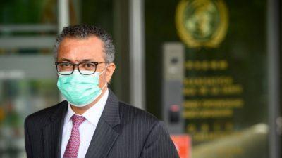 Глава ВОЗ заявил о начале третьей волны пандемии