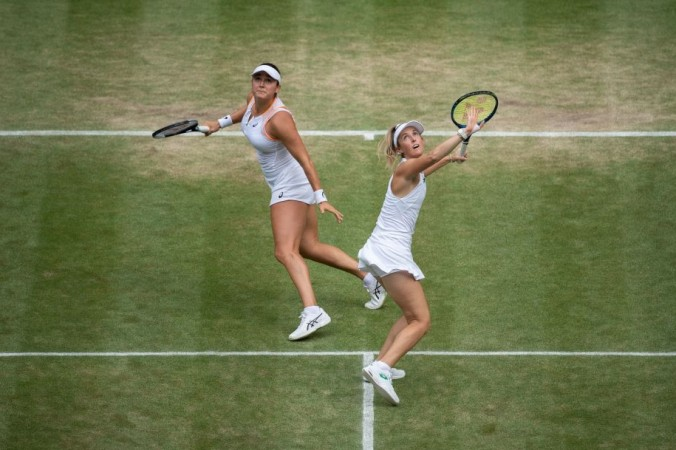 Веснина и Кудерметова вышли в финал Уимблдонского турнира
